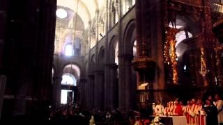 サンティアゴ・デ・コンポステーラ カテドラルの大香炉振り回し