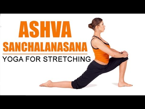ashva sanchalanasana  yoga for stretching  youtube