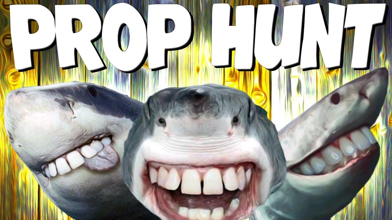 SO DAMN FUNNY!!   Prop Hunt #20 - YouTube
