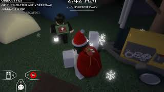 Before The Dawn: Redux Juon gameplay de la peau festive (Roblox)
