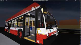 (Roblox) Commission de transport de Toronto (Toronto Transit Commission) Novabus LFS HEV 2018 #3400 Rt. 85 Sheppard Est