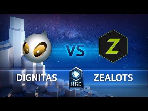 HGC EU – Phase 1 Week 5 - Team Dignitas vs. Zealots - Game 3