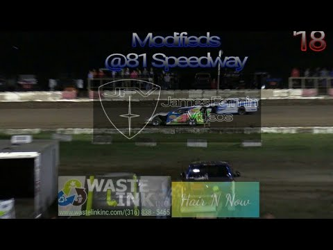 Modifieds #22, Feature, 81 Speedway, 09/22/18