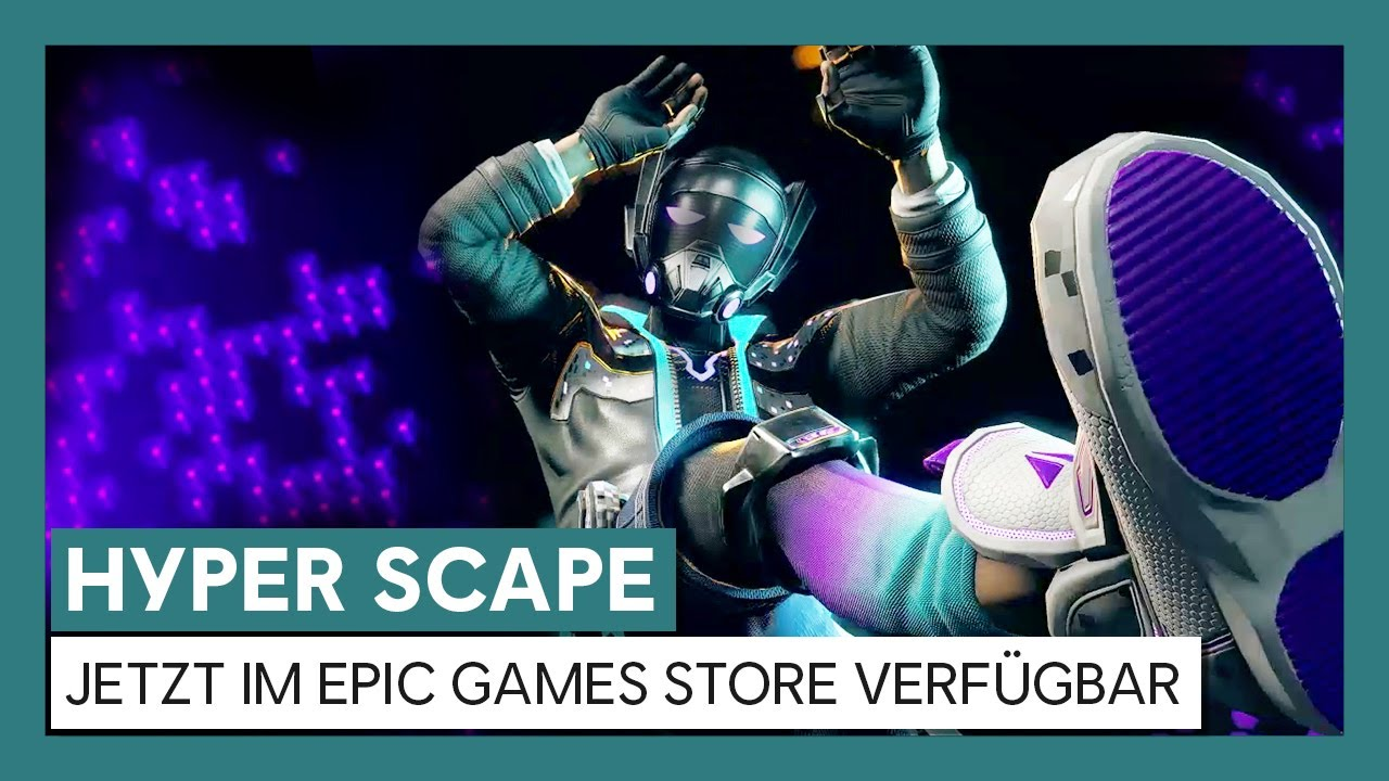 Hyper Scape - Epic Games Store Launch Trailer | Ubisoft