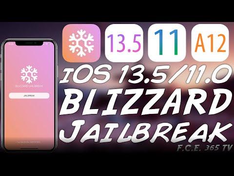 NEW iOS 13.5 - 11.0 JAILBREAK (Blizzard Jailbreak) (A13 Too)   Open Source Jailbreak To Come Soon!