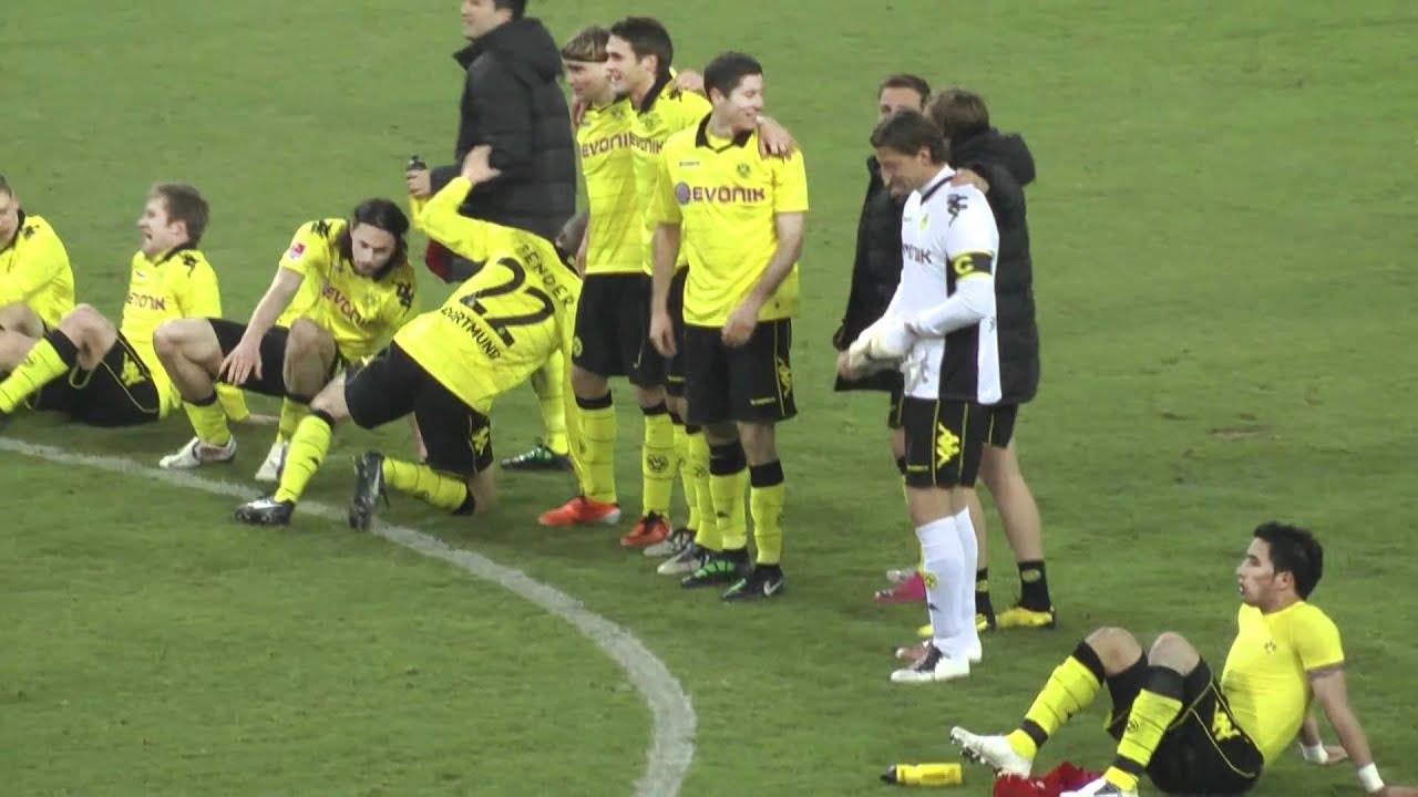 Borussia Dortmund vs 1. FC Köln 1-0 Stimmung BVB - Nach dem Spiel