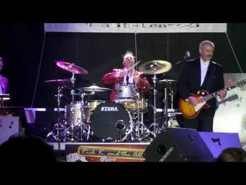 Rick K & The Allnighters - Steve Moore - The Mad Drummer / Clarksburg, WV 8-5-16