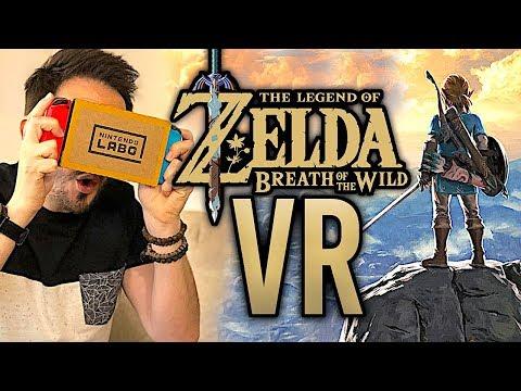 ZELDA Breath of the Wild en VR : génial ou raté ? TEST + gameplay fr