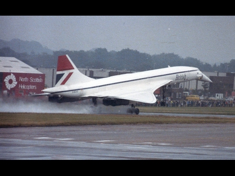 Aberdeen Airport Visiting Aircraft 1980's Album 1