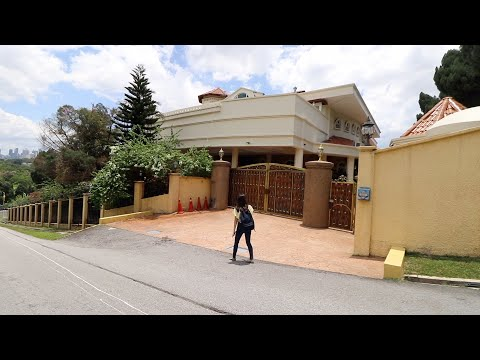 Malaysia's rich people houses (Walking Tour)
