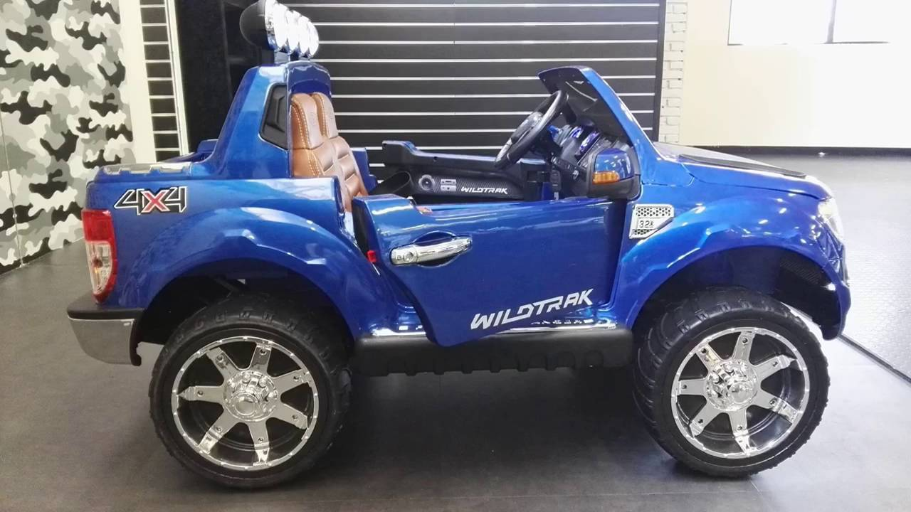 elektrische kinderauto ford ranger 12v youtube