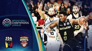 JDA Dijon v Telenet Giants Antwerp - Full Game - Basketball Champions League 2018-19