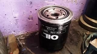 Масляный фильтр NITTO 4TP-125 . Сравнение с фильтром VIC.C115. TOYOTA 90915-30002