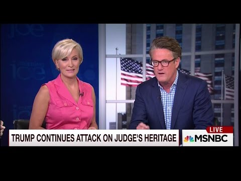 "Joe Scarborough to Trump Supporters & Endorsers: ""You"