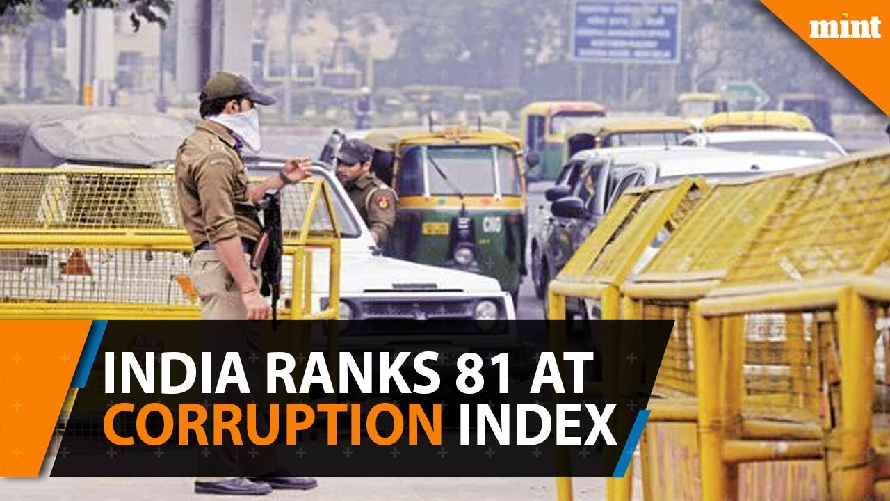 India's ranking in corruption perception index falls to 81