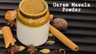Homemade Garam Masala Powder Recipe    Kerala Recipes     
