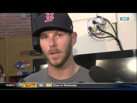 Chris Sale on his start against Masahiro Tanaka