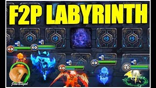 SUMMONERS WAR : FREE-2-WIN - Episode 61 - Labyrinth!!!
