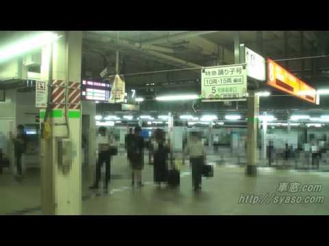 Из окна поезда. Япония. Токио-Изумо. полная версия