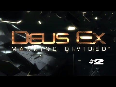 Deus Ex: Mankind Divided Playthrough #2 No Deaths / No Commentary