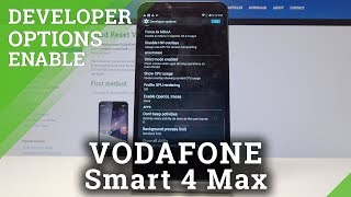 How to Enable Developer Options in Vodafone Smart 4 max