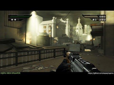 XQEMU Xbox Emulator - Black Ingame - Realtime! (WIP)
