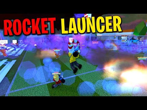 ROCKET LAUNCHER BATTLE IN NEW JAILBREAK UPDATE!!!
