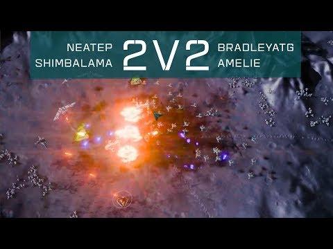Ashes of the Singularity: Escalation [2v2 Gameplay]