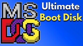 Replacement MS DOS Boot Disk Files Video