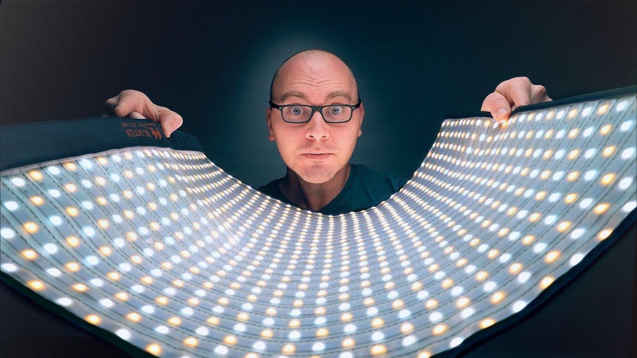 Massive Video LED Light Mat! Falcon Eyes 24TDX Review