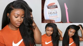 Baixar Secrets Revealed! Glueless 360 Lace Wig Install With No Leave Out | OMGHerHair