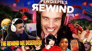 """Myth Reacts To """"YouTube Rewind 2018 but it's actually good"""" by PewDiePie"""
