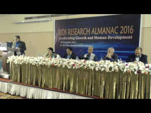 Day 1-Technical Session 2: Renewable and Non-Renewable Energy (BIDS RESEARCH ALMANAC, 2016)