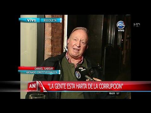 """D.Sabsay en """"América Noticias"""", con E.Bataglia y P.Trapani (Completa) - 10/04/16"""