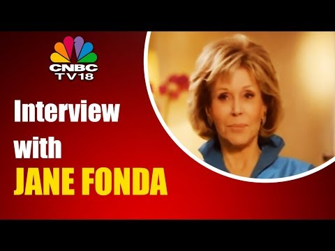 Interview with JANE FONDA | Entertainment News | CNBC TV18
