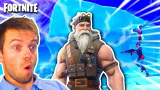 🔴 [FORTNITE] BIENTOF SECRET PASSAGES IN GLACE? WE EXPLORE SEASON 7