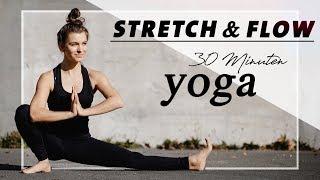 Yoga für Beweglichkeit   Stretch & Flow   Tiefe Dehnungen und neue Haltungen   Mittelstufe