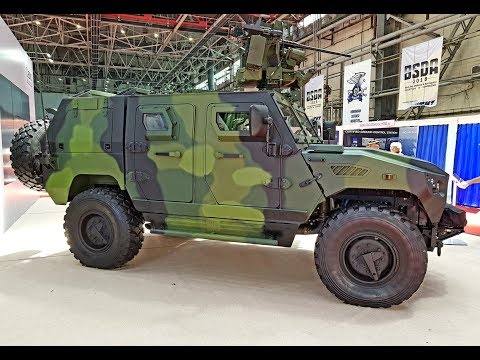 Armoured Personnel Carrier NIMR AJBAN 440A 4x4
