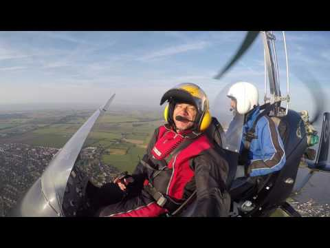 Video of 20 minute Gyrocopter Trial Flight