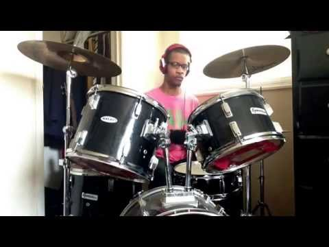 Andrae Crouch Featuring Lauren Evans - Bless The Lord (Drum Cover)