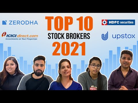 Top 10 Stockbrokers 2020 in India