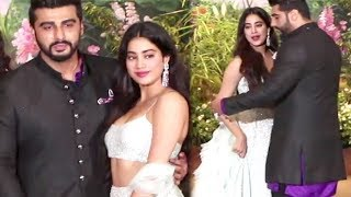 Arjun Kapoor Being Protective Of Sister Jhanvi Kapoor At Sonam Kapoor Wedding