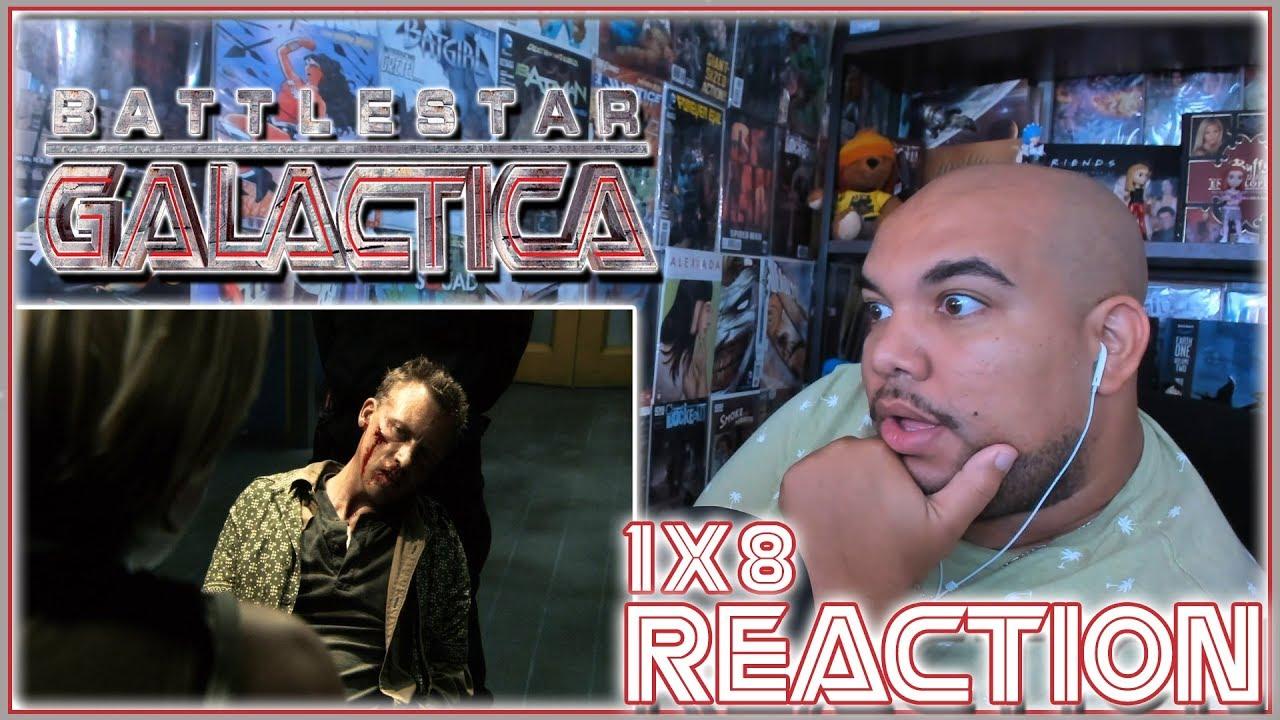 "Download Battlestar Galactica Reaction Season 1 Episode 8 ""Flesh and Bone"" 1x8 REACTION!!!"