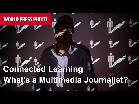 What is a multimedia journalist?