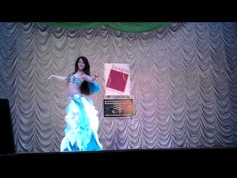 ученица The Sheikh Ali School of Belly Dance Анна Хоменко