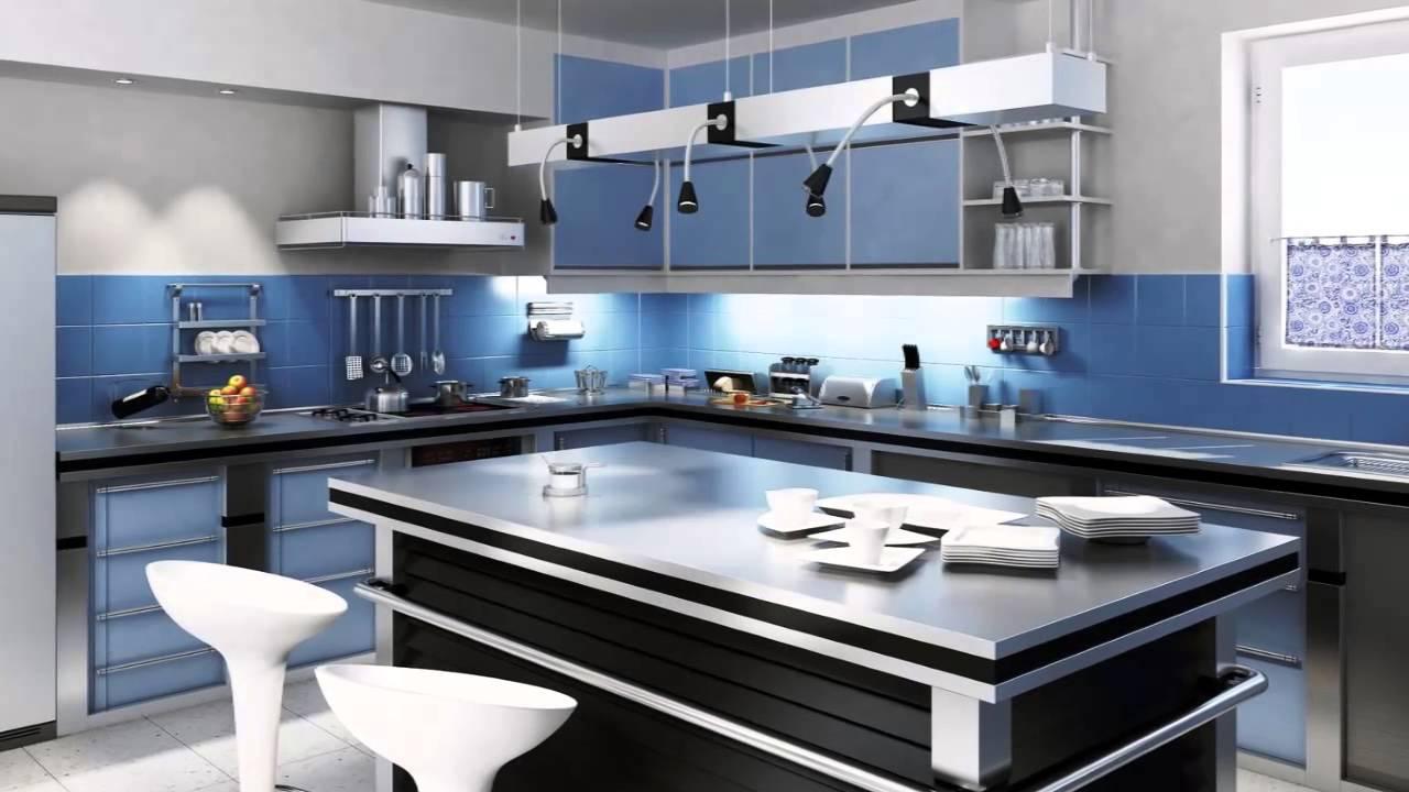 Cor para cozinha youtube for Pintura cocina pato azul