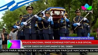 Policía Nacional rinde homenaje póstumo a Sub Oficial Mayor caído en cumplimiento del deber