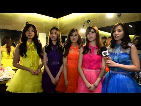 Popu Lady (Taiwan) discuss their Golden Melody Festival show