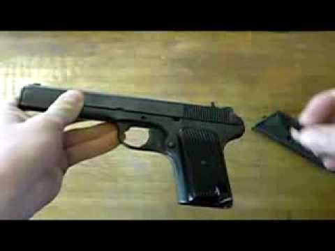 Разборка пистолета ТТ