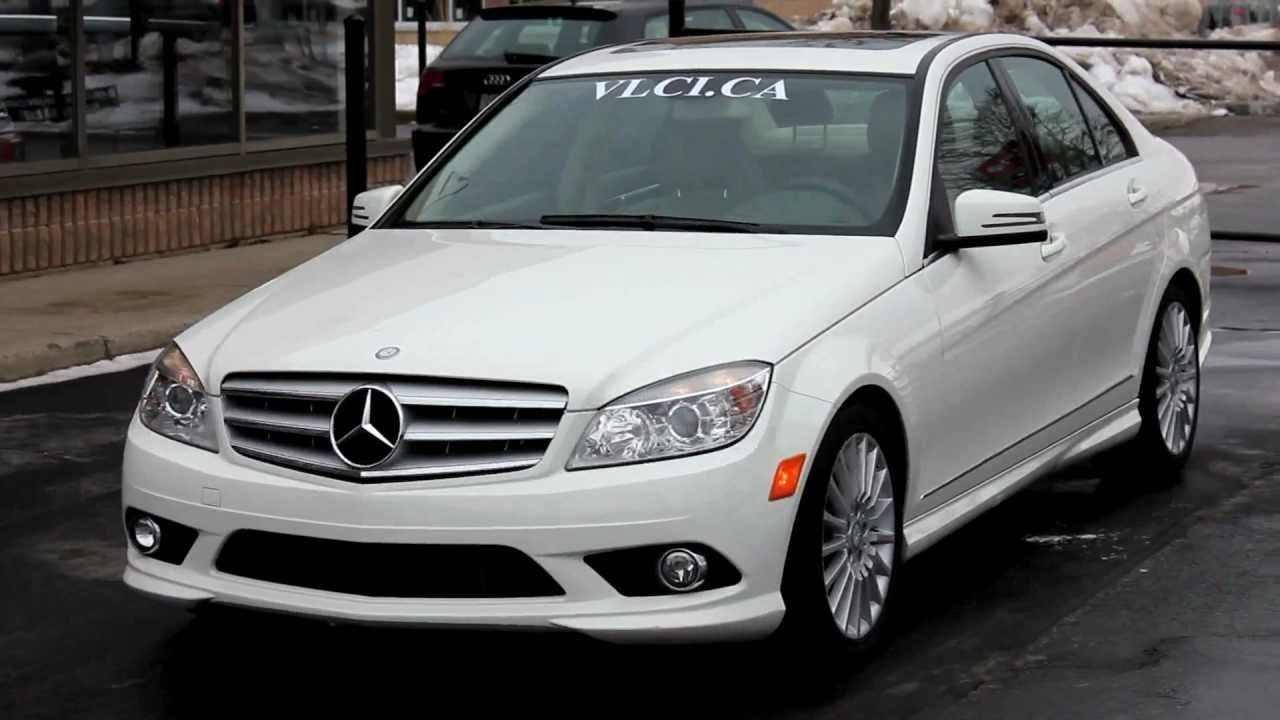2010 mercedes benz c250 4matic village luxury cars